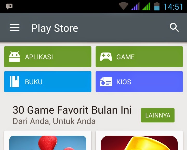 Cara Mengatasi aplikasi play store gagal download