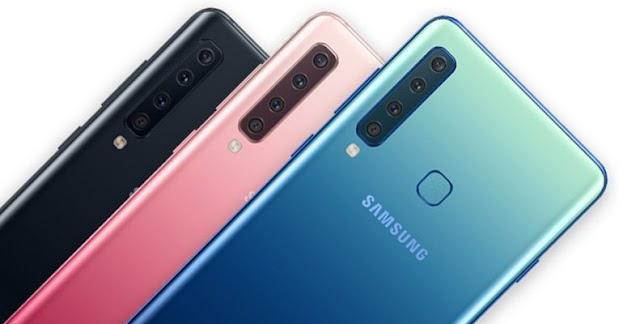 Meet Samsung Galaxy A9 (2018) with Four Rear Cameras