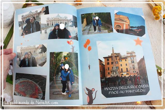 Avis sur le Livre photo Evasion de myFujifilm : Rome