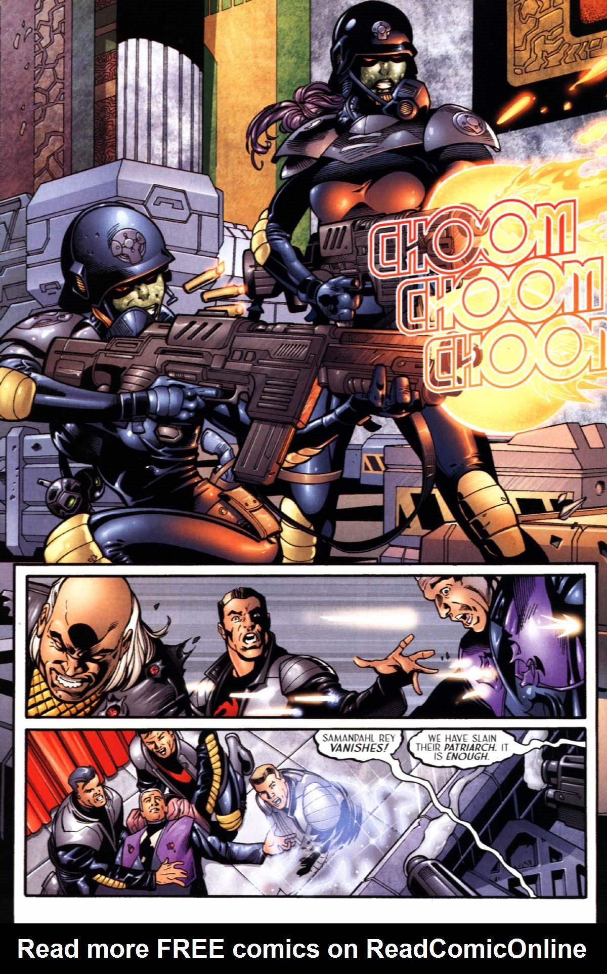 Read online Sigil (2000) comic -  Issue #21 - 20