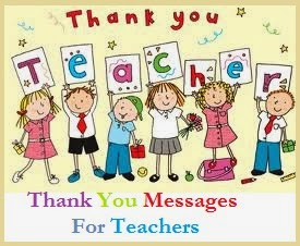 Thank You Messages Teachers