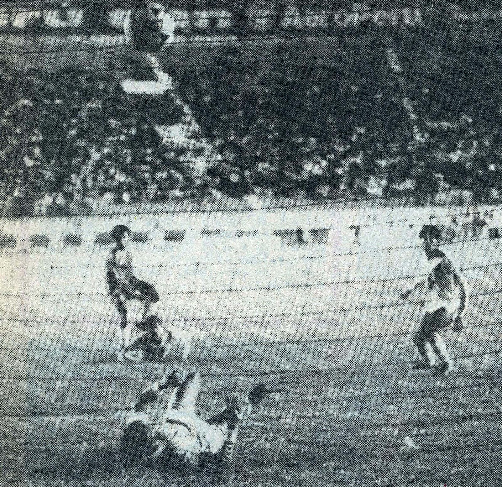 Perú y Chile en Copa del Pacífico 1988, partido de vuelta