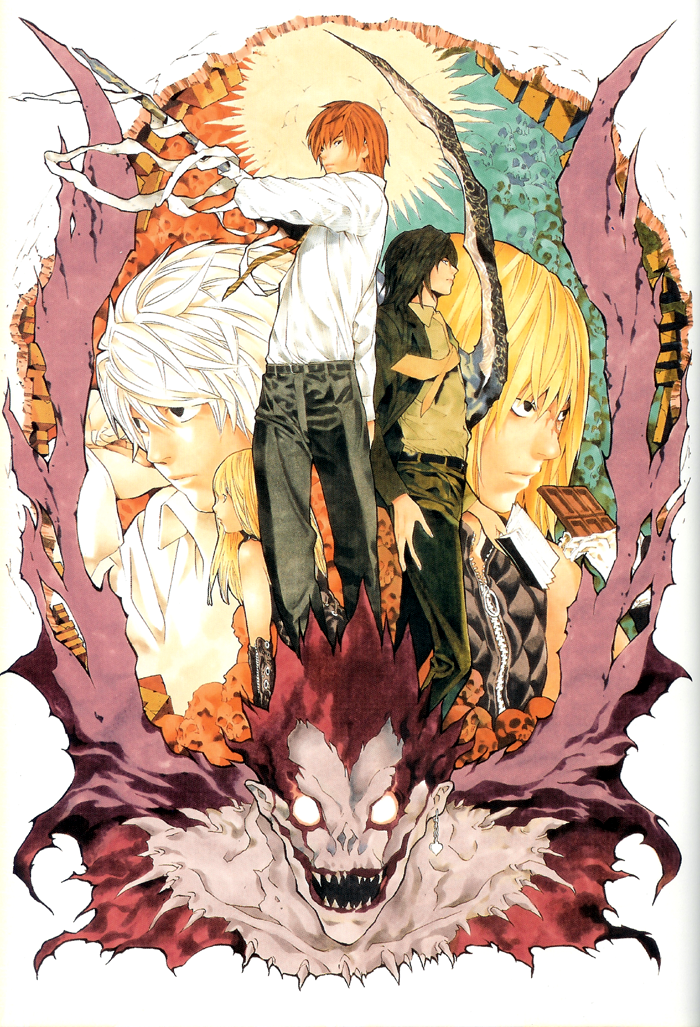 How Do I Get Live Wallpapers On My Iphone Fanzine Saiyajin Artbook Takeshi Obata Death Note