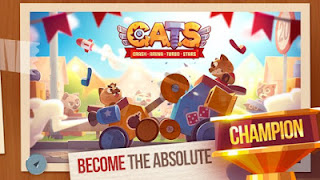 Download Cats:Crash Arena Turbo Mod Apk v2.0 Full Version