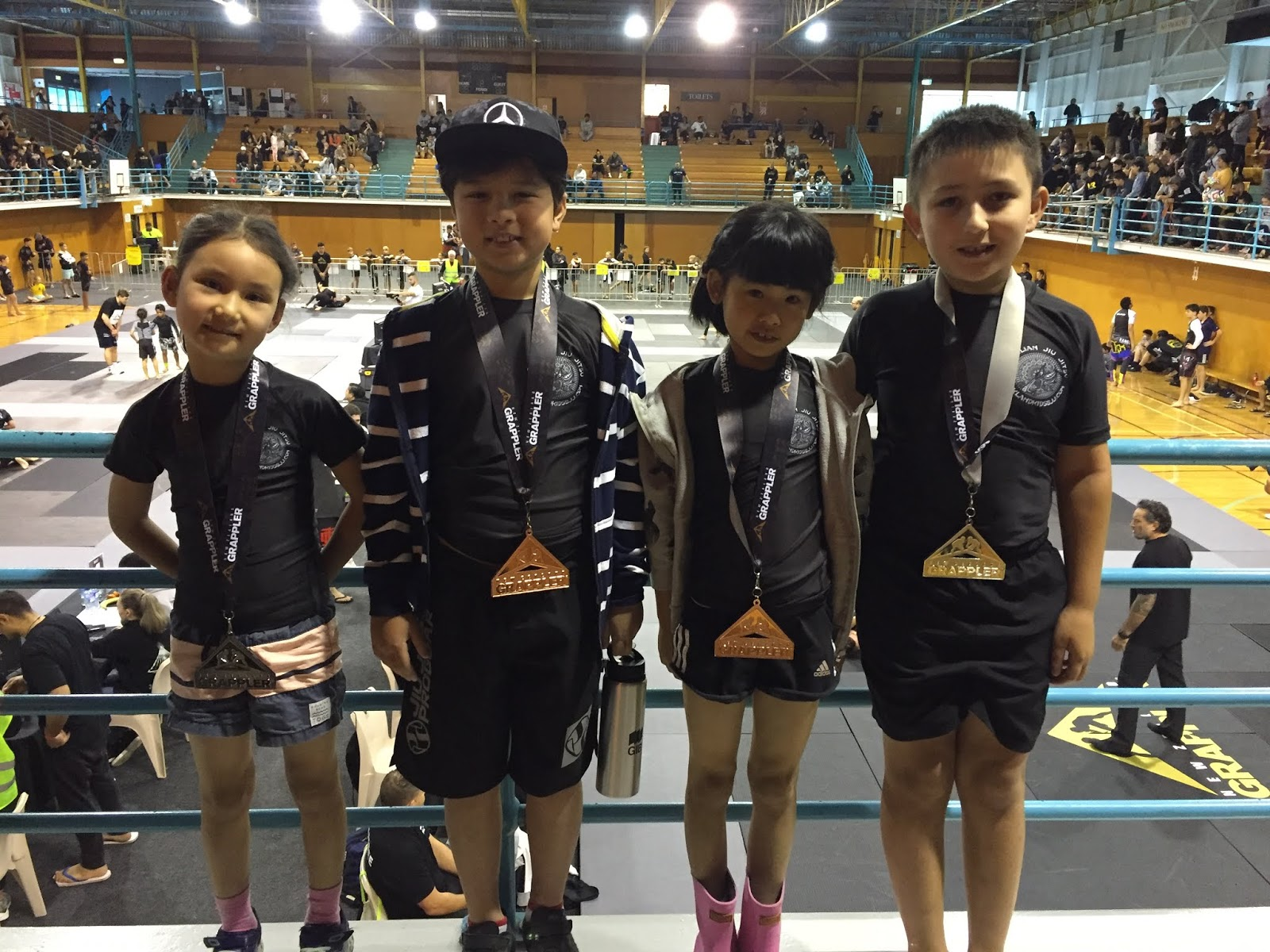 Auckland Kids BJJ: Competition results