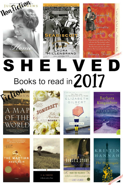 Shelved // Books to Read in 2017 {What We're Reading #1}