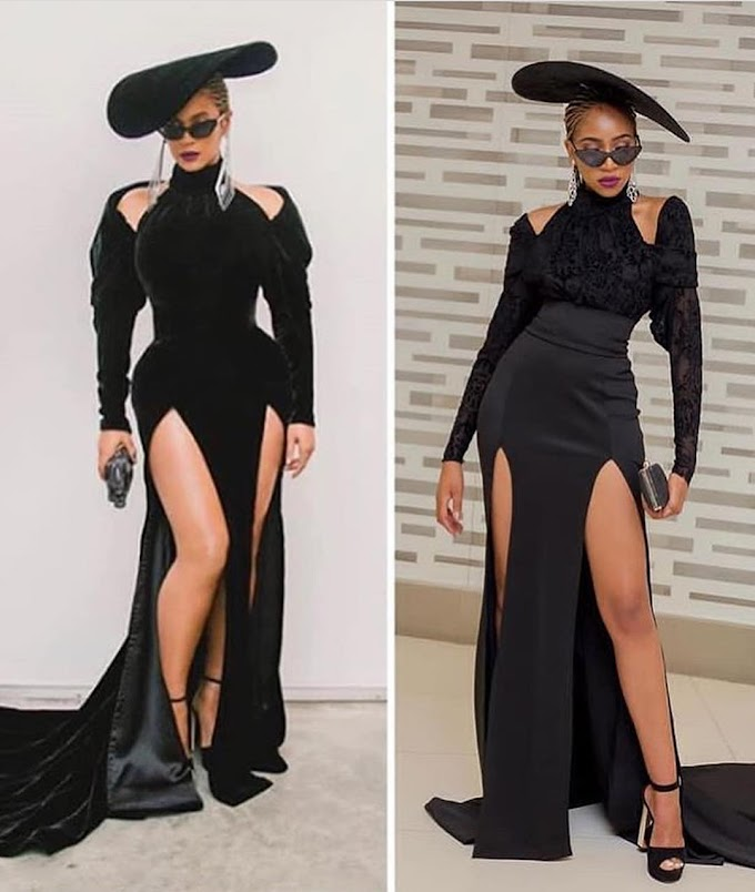 Blue Mbombo Recreated One Of Beyonce's Looks For Halloween; Did She Nail The Look?