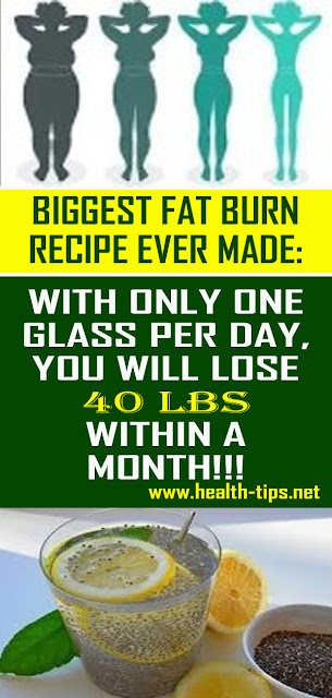 Lose 40 Pounds In Just 1 Month With The Biggest Fat Burn Recipe#NATURALREMEDIES