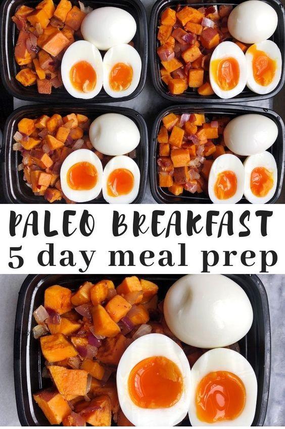 Paleo Breakfast Meal Prep