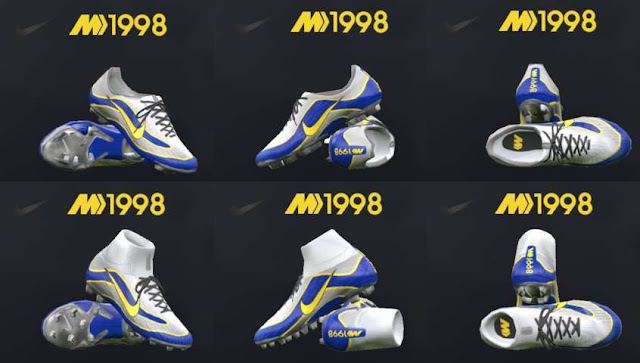 Nike Mercurial Superfly Heritage iD 1998 PES 2018