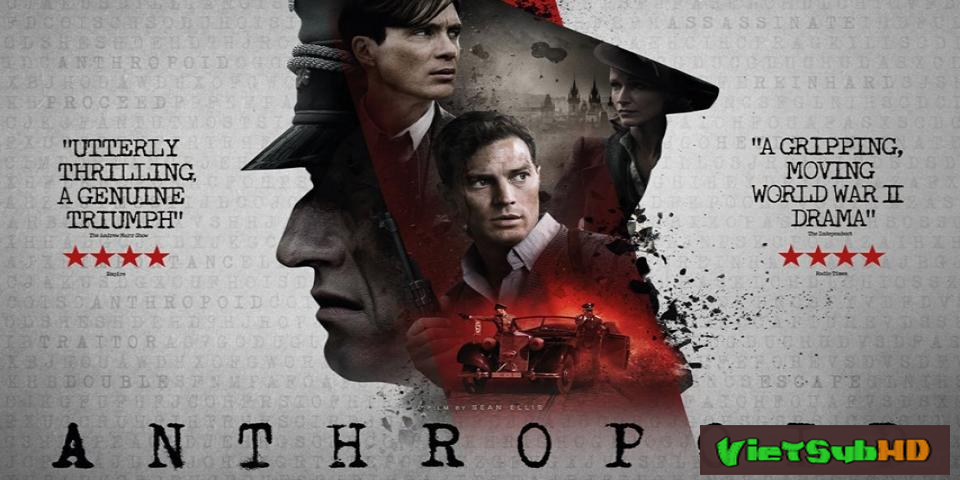 Phim Nhiệm vụ mật VietSub HD | Anthropoid 2016