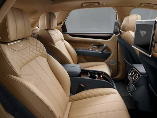 2017 Bentley Bentayga Interior