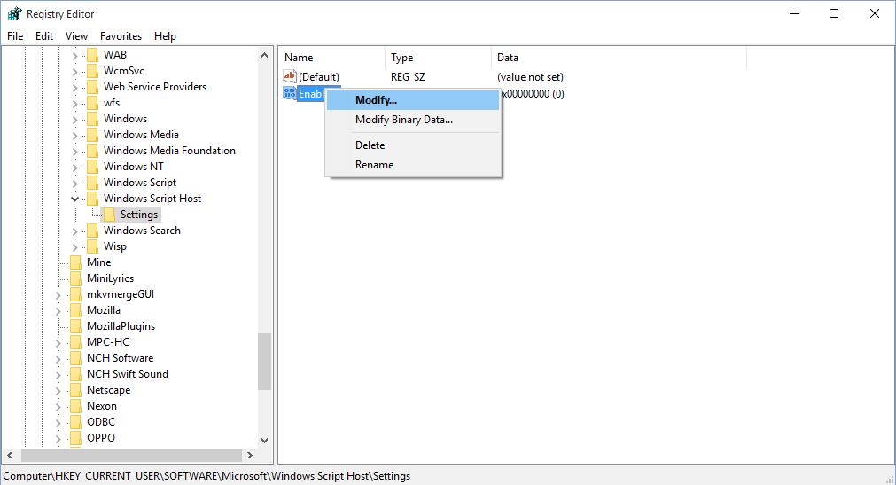 Cara enable windows script host topikuaman cara enable windows script host ccuart Image collections