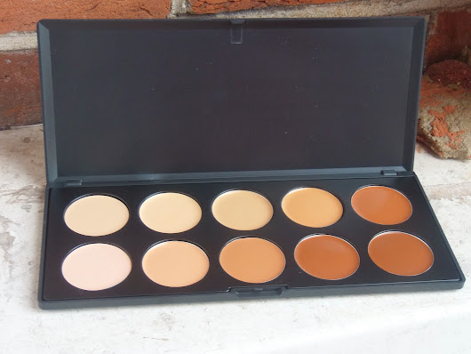 Review: Coastal Scents Camouflage Concealer Palette