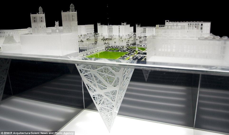 Gedung Pencakar Bumi Sudah Rencana Akan Dibangun Oleh Meksiko