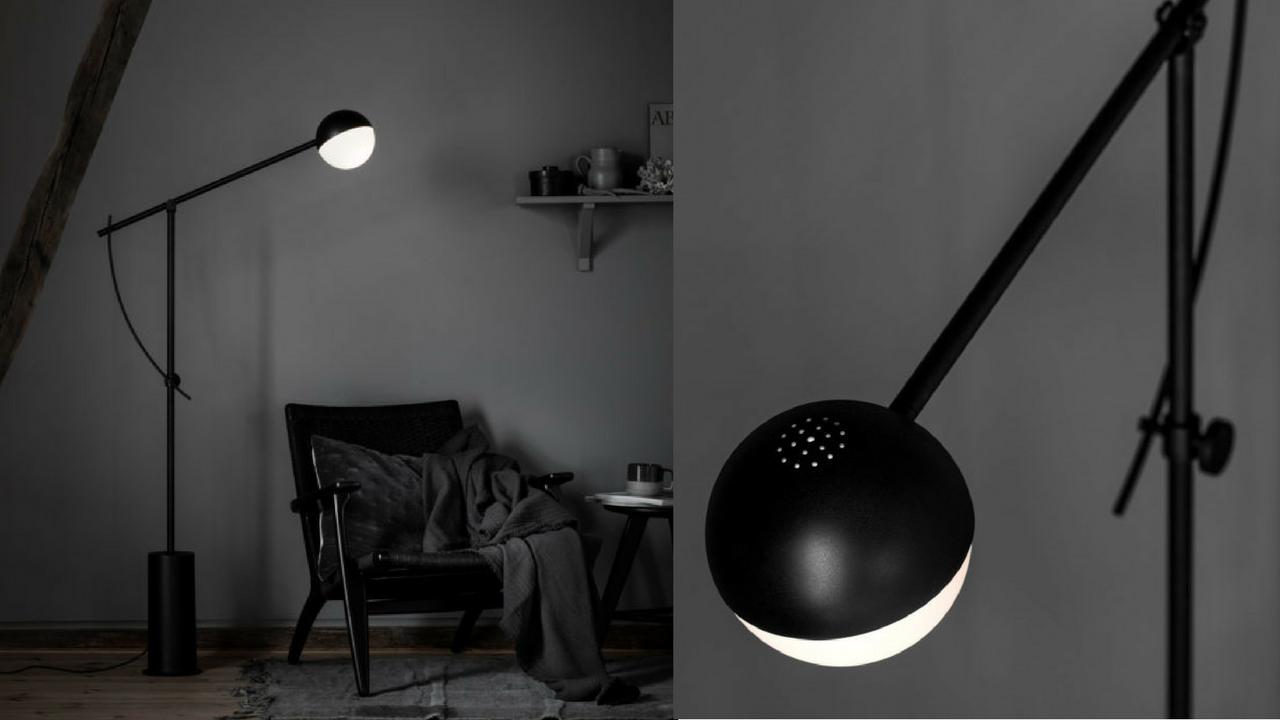 Podłogowa lampa do czytania