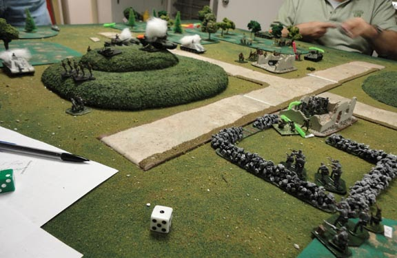 Wargaming Hell Making Hills