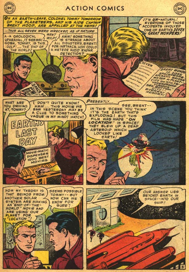 Read online Action Comics (1938) comic -  Issue #210 - 31