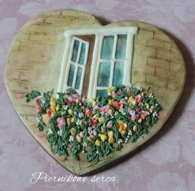 Flowers in the Window Cookies