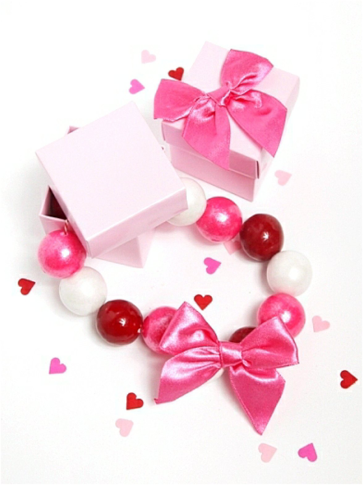 DIY Valentine's Day Gumball Necklace