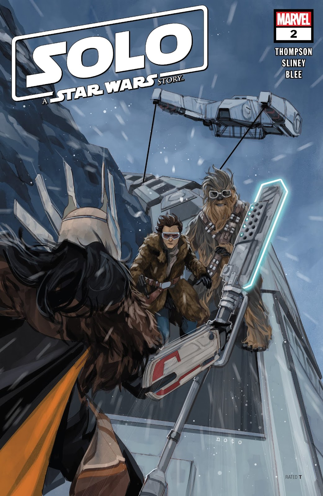 Read online Solo: A Star Wars Story Adaptation comic -  Issue #2 - 1