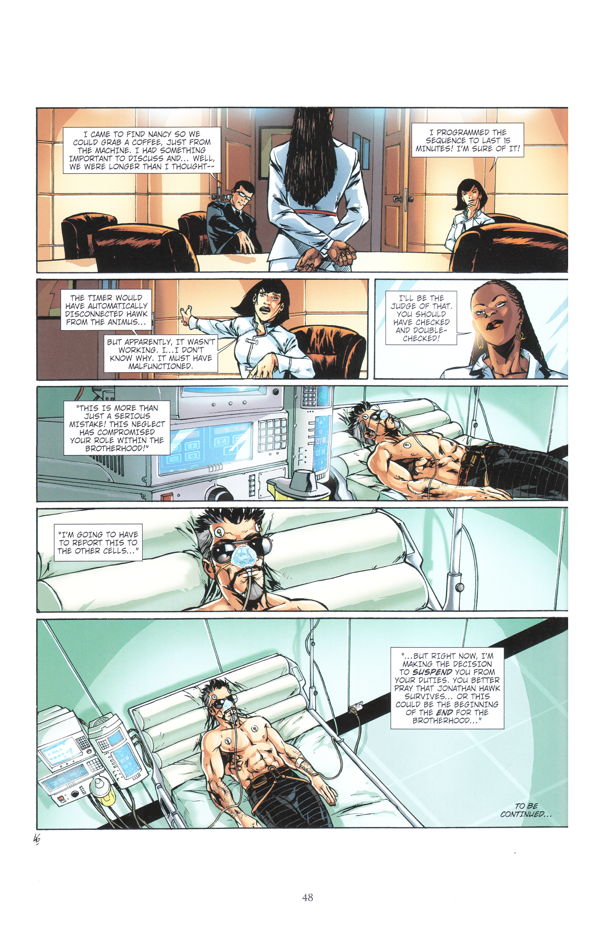 Read online Assassin's Creed (2012) comic -  Issue #4 - 48