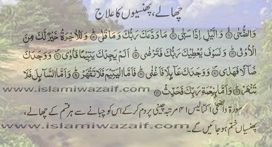 chalay phunsio ka ilaj in urdu