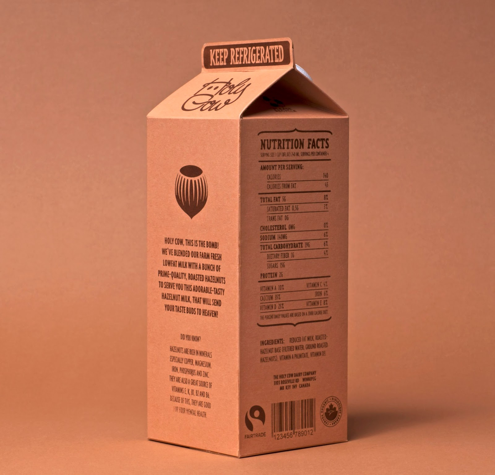 Holy Cow Dairy (Student Project) On Packaging Of The World