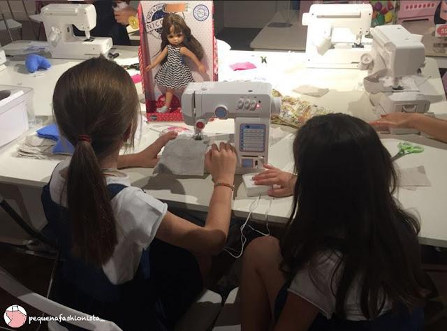 Taller iniciación a la costura #Imaginarium #PequeñaFashionista #DIY