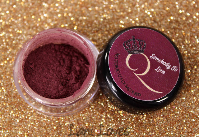Notoriously Morbid Baroness Eyeshadow Swatches & Review