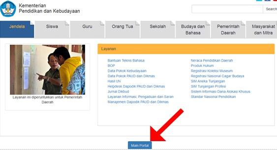 Kumpulan Alamat Situs Website Resmi Kemdikbud