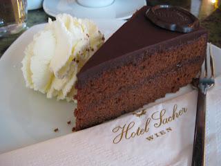 Original Sacher-Torte at Hotel Sacher