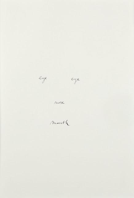 Un dibuix d'una cara tansols amb els noms escrits en anglés dels ulls, el nas i la boca
