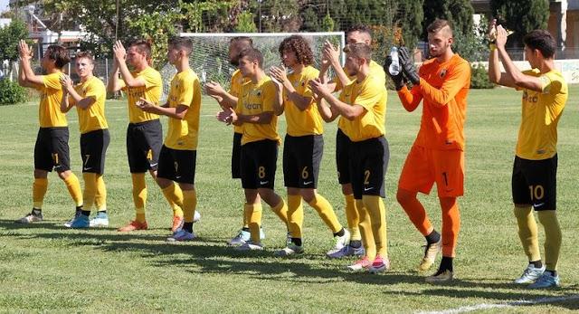 Super League K20: Λαμία - ΑΕΚ 0-0
