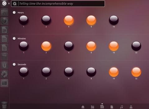 clock ubuntu 11.10