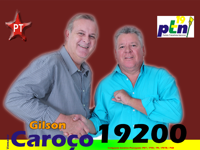 #VOTEGILSONCAROÇO