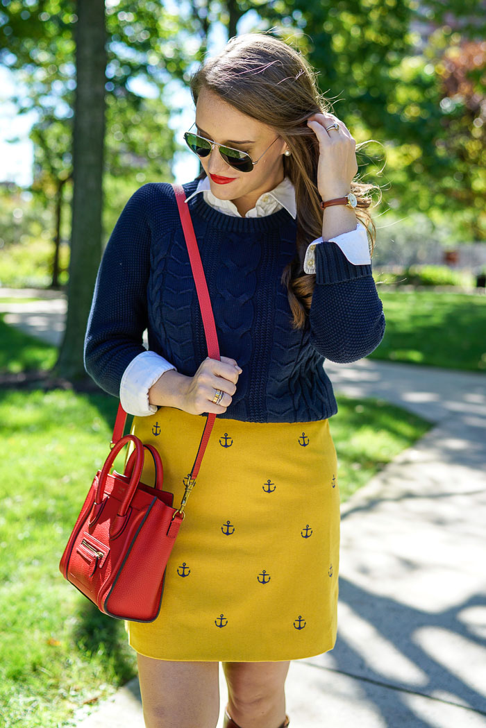 Krista Robertson, Covering the Bases, Travel Blog, NYC Blog, New York & Company, Preppy Blog, Fashion Blog, Travel, Fashion Blogger, NYC, What to wear-to-work, Work outfits, How to Dress for Work, Vineyard Vines Outfits, Nautical Inspired, Anchor pattern