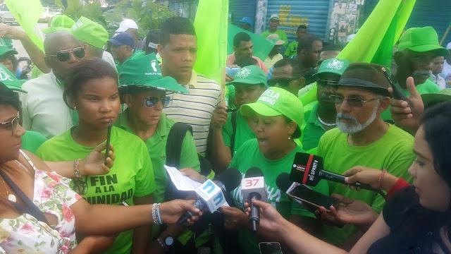 """Marcha Verde asegura caso el Odebrecht es un """"teatro judicial"""" del Gobierno"""