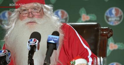 Papá Noel se deja querer en la NBA