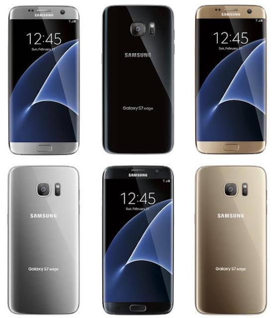 Smartphone Samsung S7 Desain Full Spesifikasi