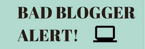 bad blogger ile ilgili görsel sonucu