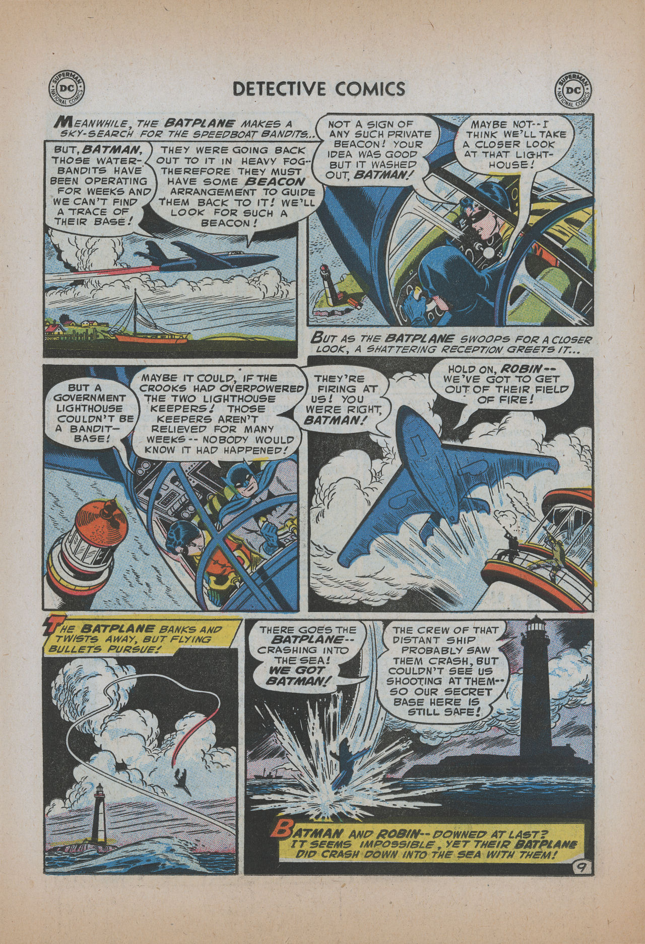 Detective Comics (1937) 220 Page 10