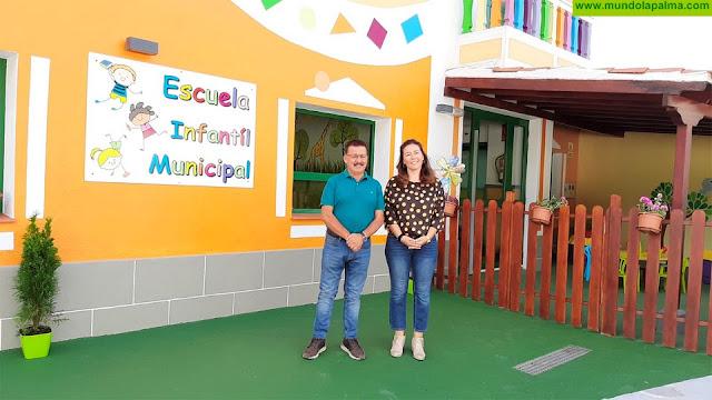 Fuencaliente estrena su renovada Escuela Infantil Municipal