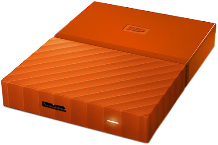 WD My Passport 1 TB naranja