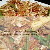 jalan masakan yuk ke Provinsi Sumatera Utara Resep Masakan Anyang Ayam Jantung Pisang khas Sumatera Utara