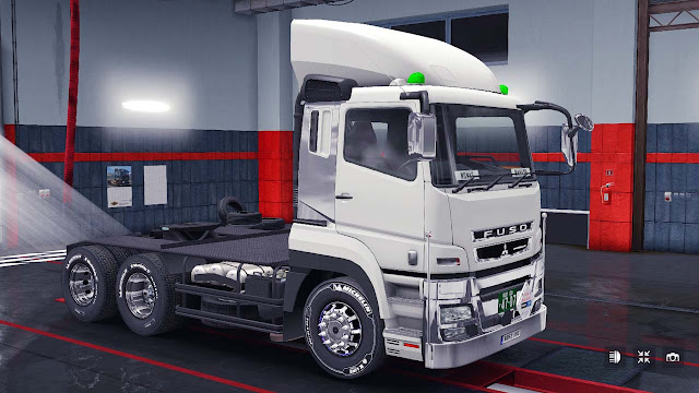 Mod Mitsubishi FUSO Super Great Euro Truck Simulator 2
