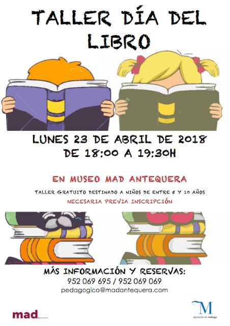 Día del Libro en el MAD de Antequera