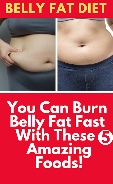 5 Amazing-Foods For Flat Belly