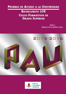 Libro PAU 2015-2016