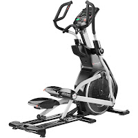 Bowflex E216 Elliptical Trainer, review features compared with Bowflex E116.  Elliptical with 35 lb flywheel